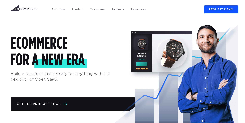 BigCommerce paid eCommerce platform