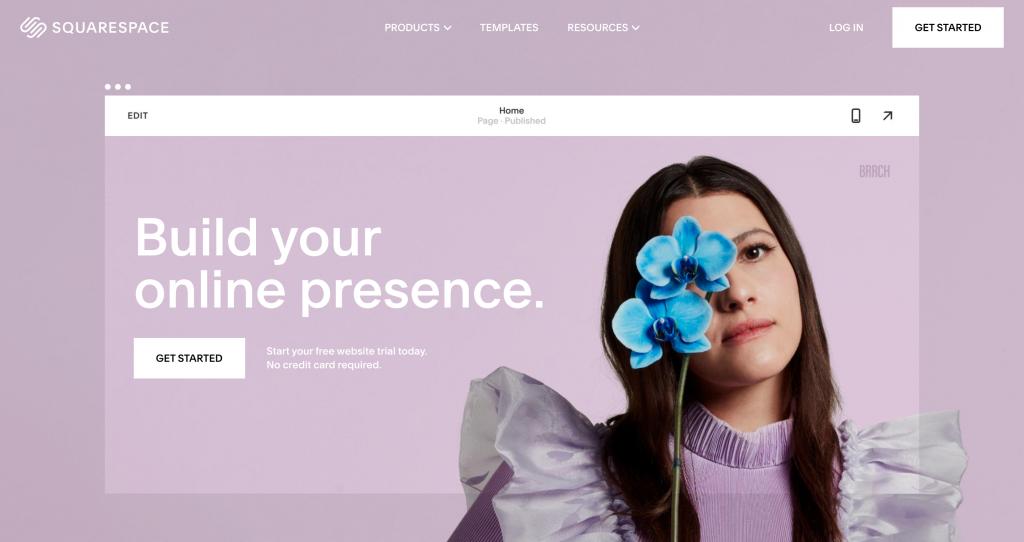 Squarespace - Shopify Alternative
