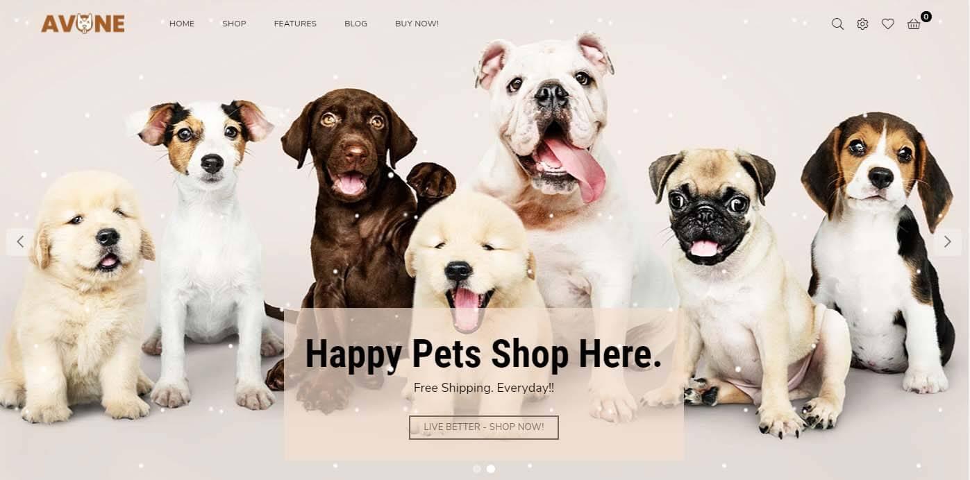 Avone Shopify conversion friendly Theme