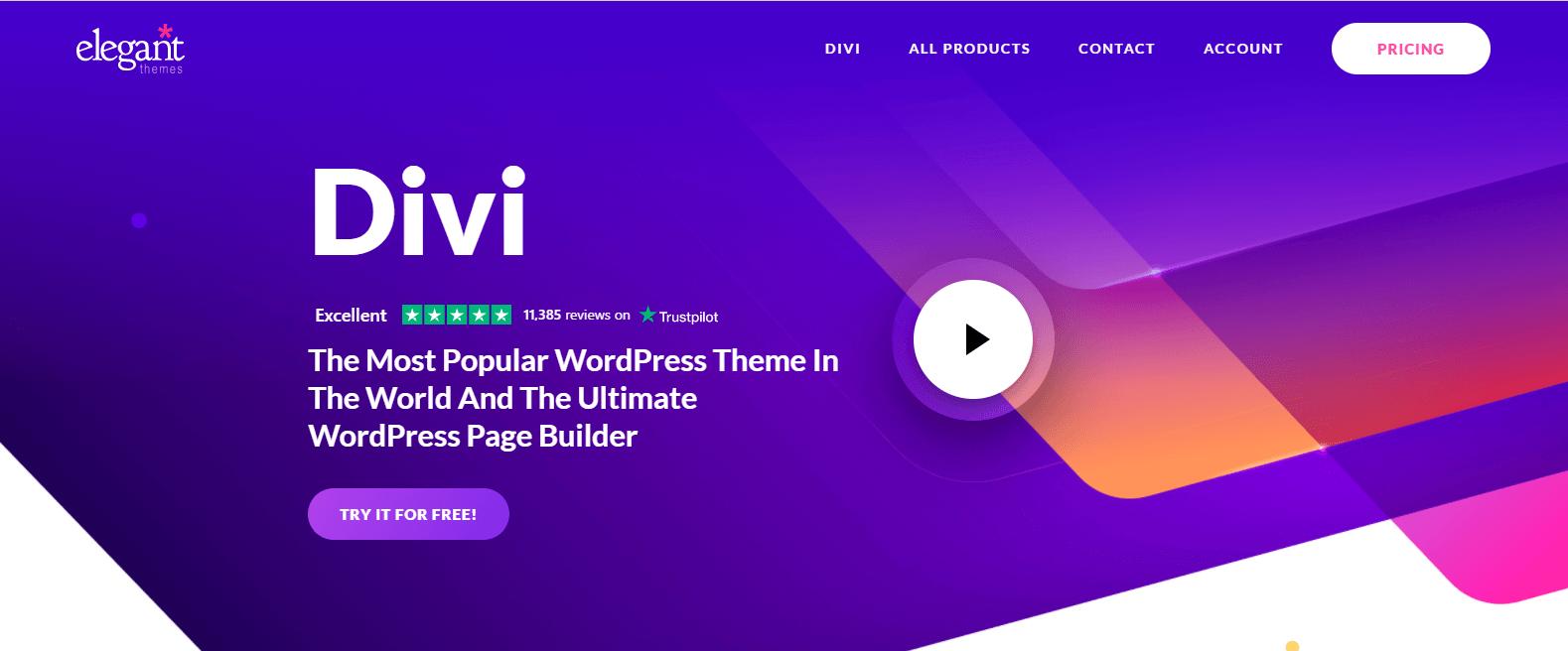 Divi - Best WooCommerce Theme