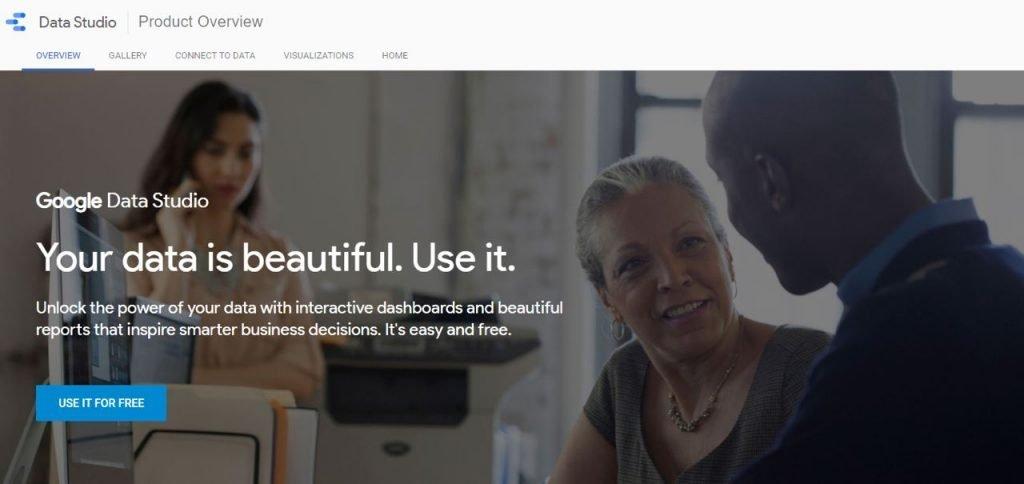 Use Google Data Studio to visualize your eCommerce analytics
