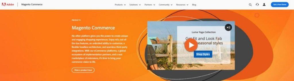Magento Free Ecommerce Platform