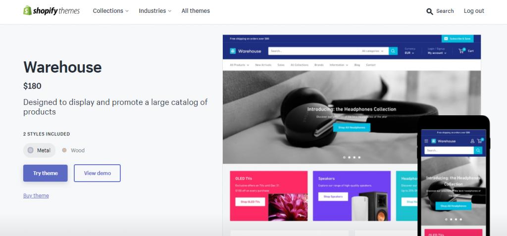 Preview Shopify Theme