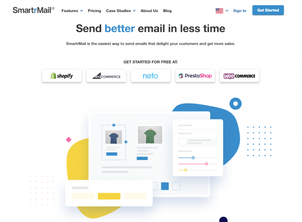 SmartrMail Shopify email marketing app