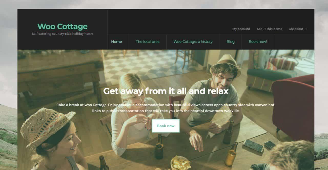 WooCommerce Hotel Theme for WordPress