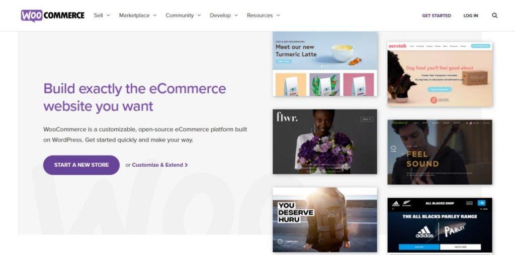 Woocommerce Free Ecommerce Platform