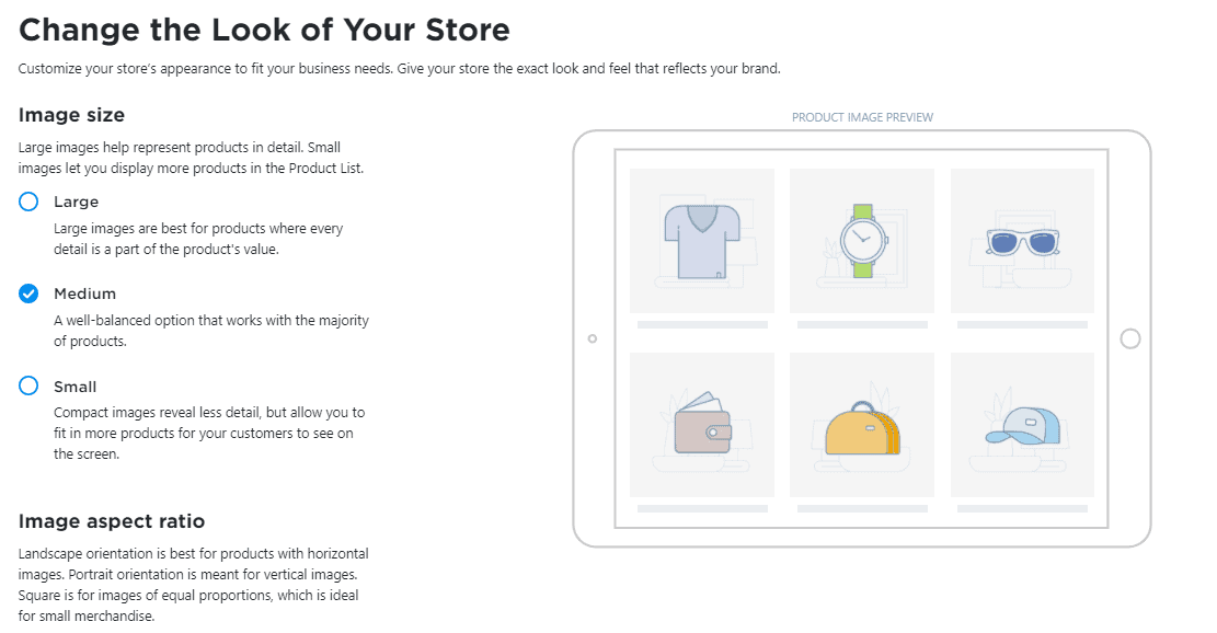change the look of your Ecwid store