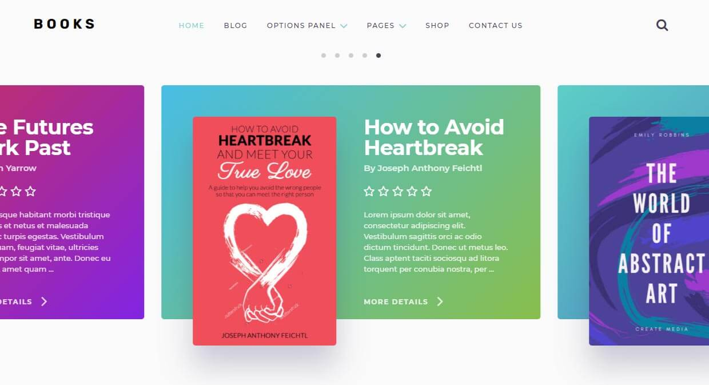 Books WordPress Theme to sell ebooks
