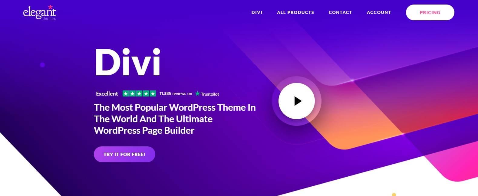 Divi WordPress Page Builder Plugin