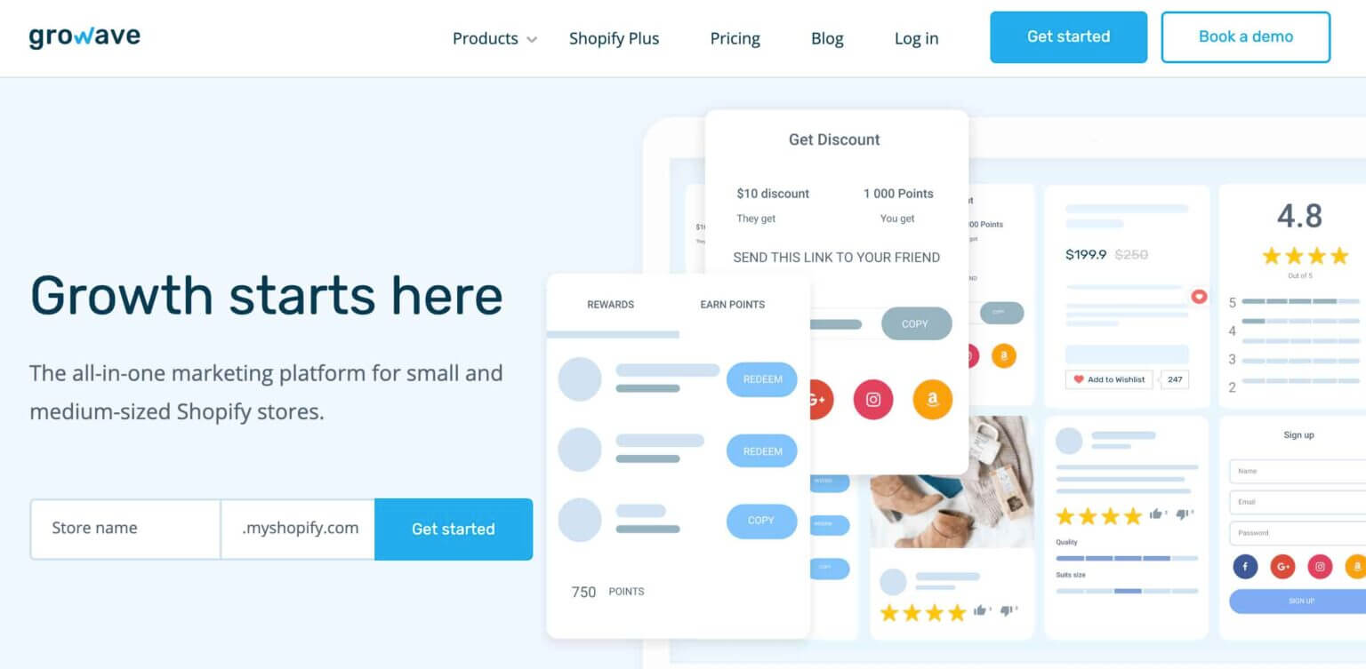 Growave Shopify Review App