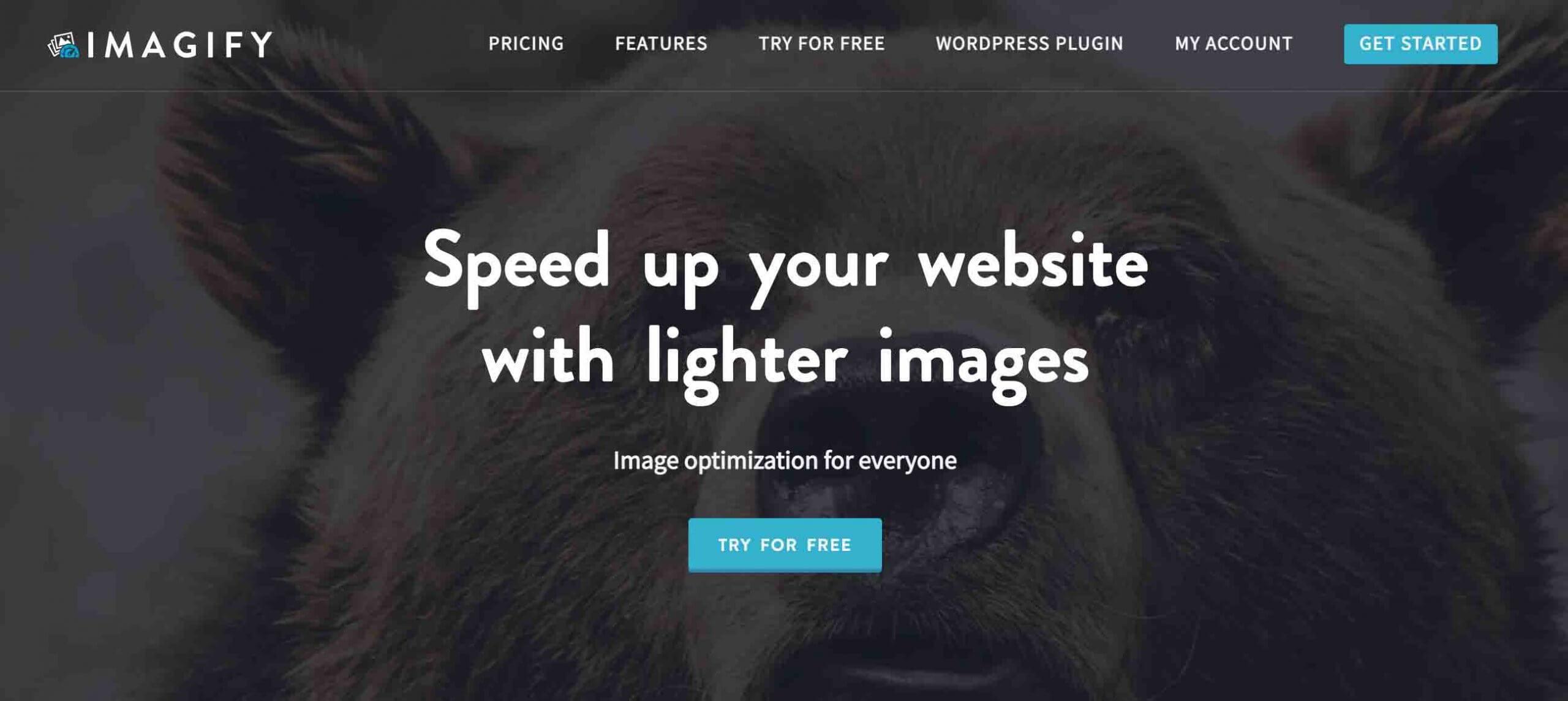 Imagify image compression plugin