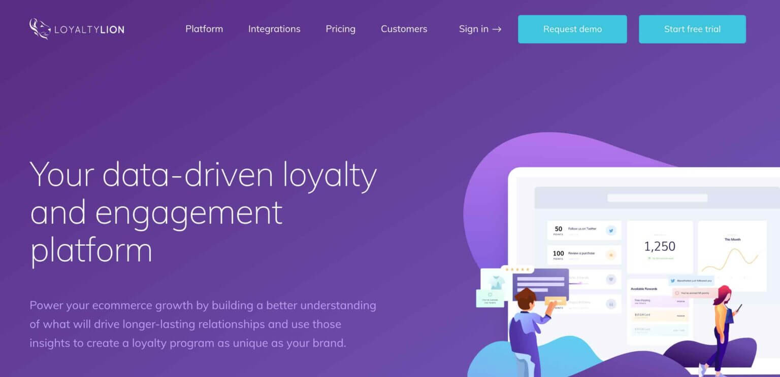 LoyaltyLion customer loyalty software for eCommerce