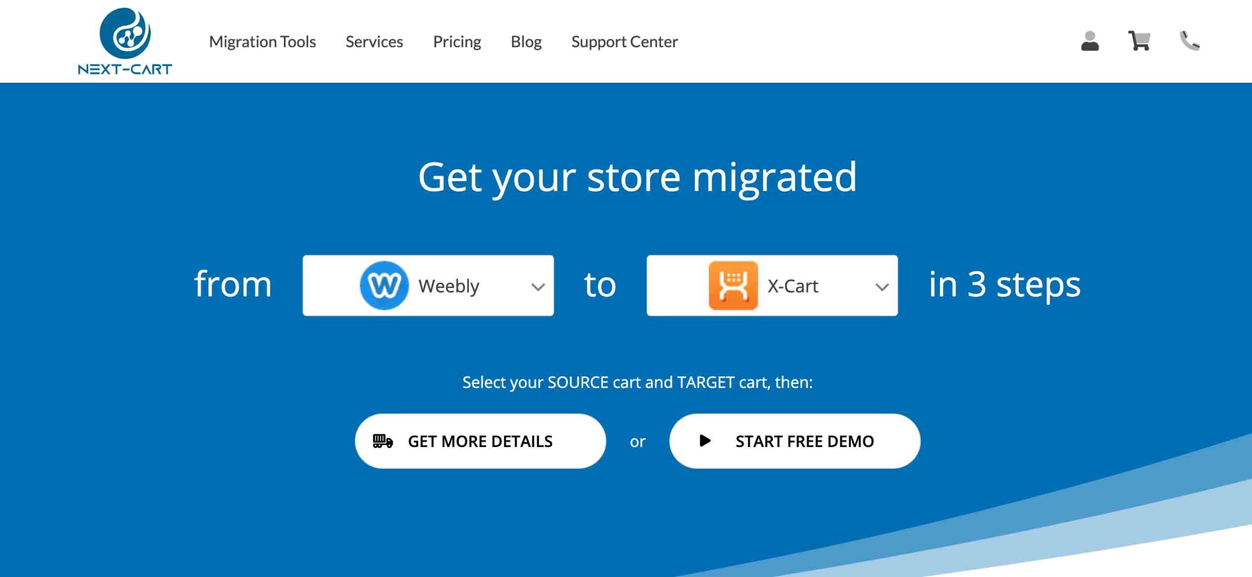 NextCart Shopping Cart Migration Software