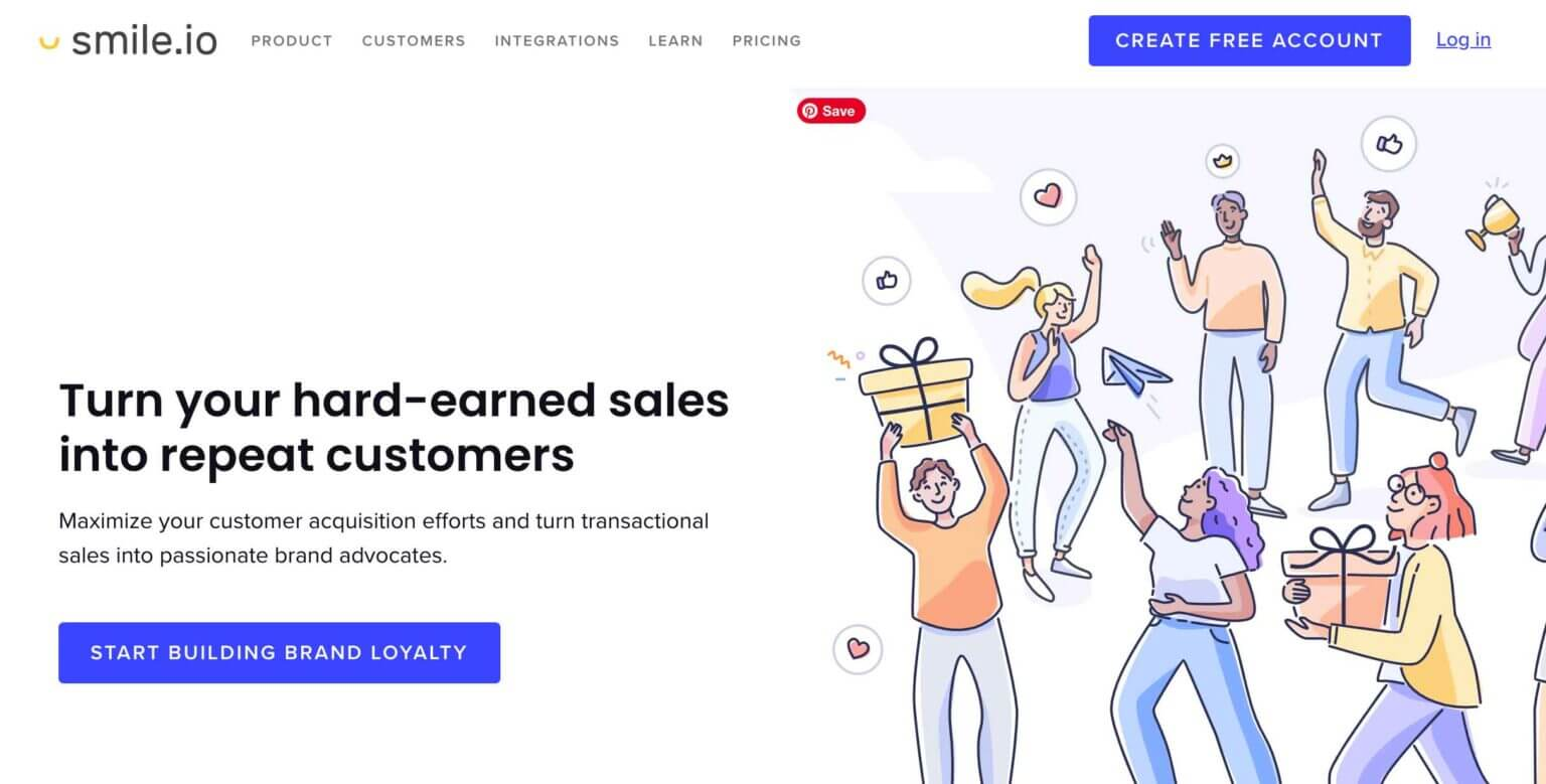 Smile.io  eCommerce loyalty software