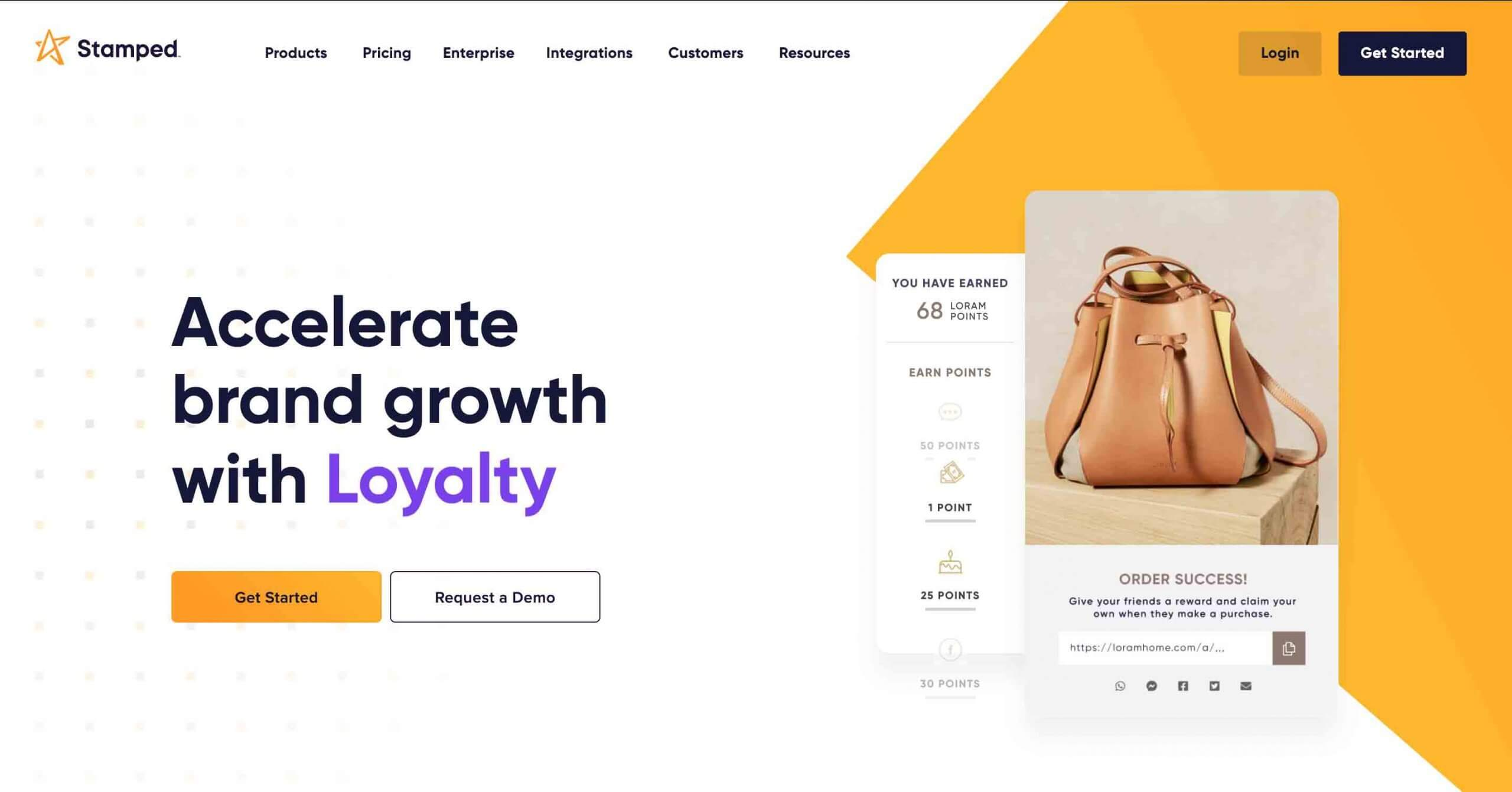 Stamped.io Ecommerce Loyalty Software