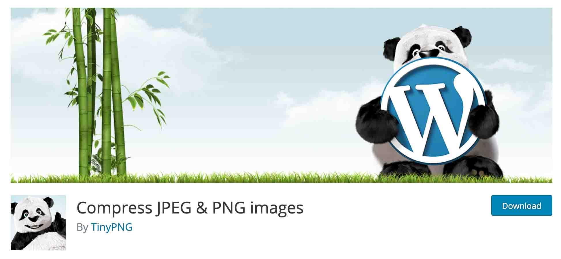 TinyPNG - WordPress Image Compression Plugins