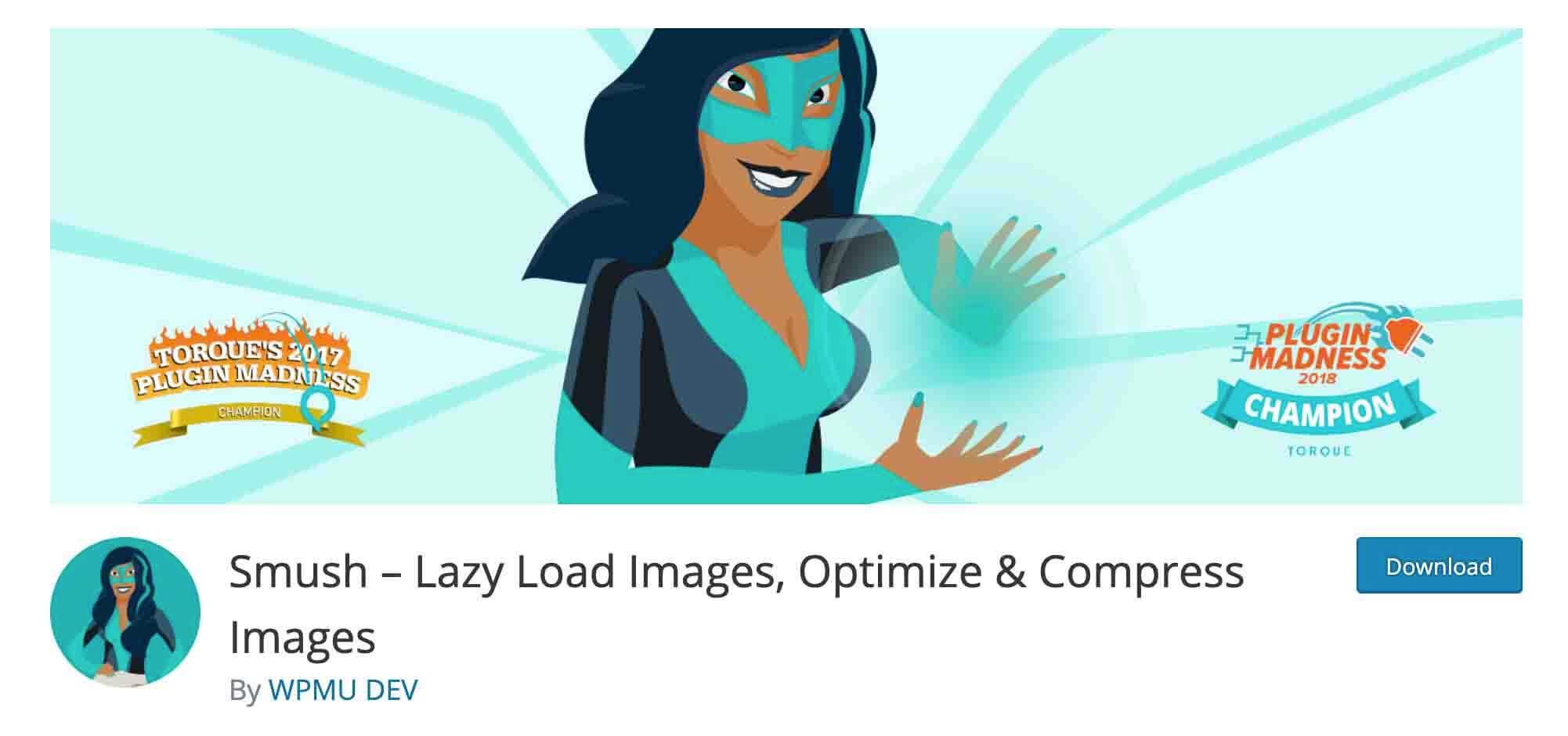 WPSmush Image Optimization Plugin for WordPress
