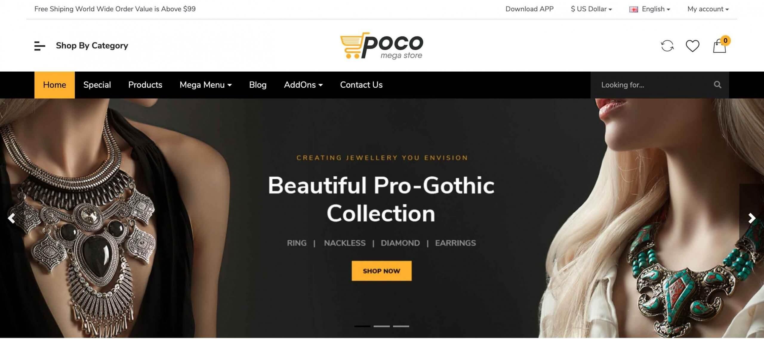 Poco – Advanced OpenCart Theme