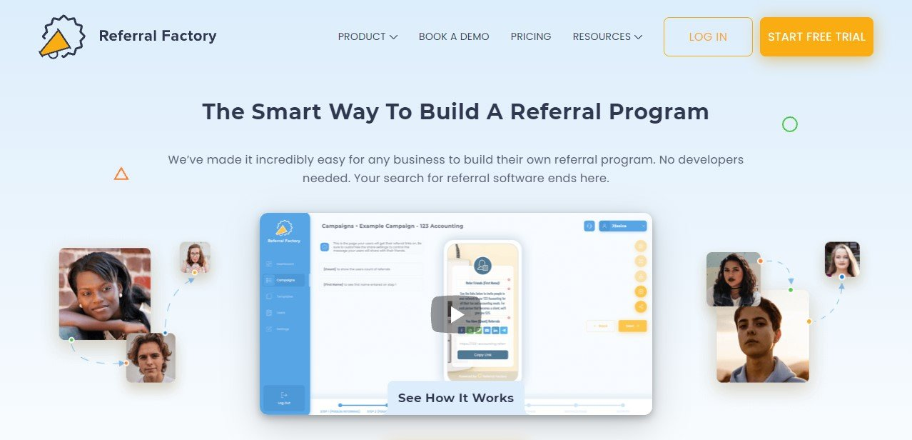 Referral Factory - best referral marketing software