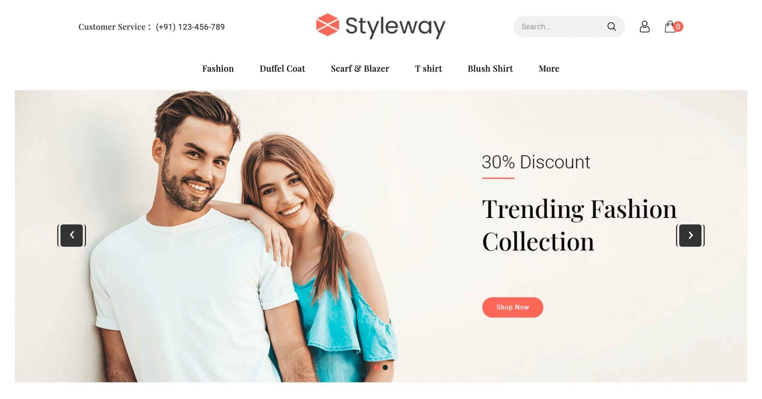 Styleway – OpenCart Fashion Theme