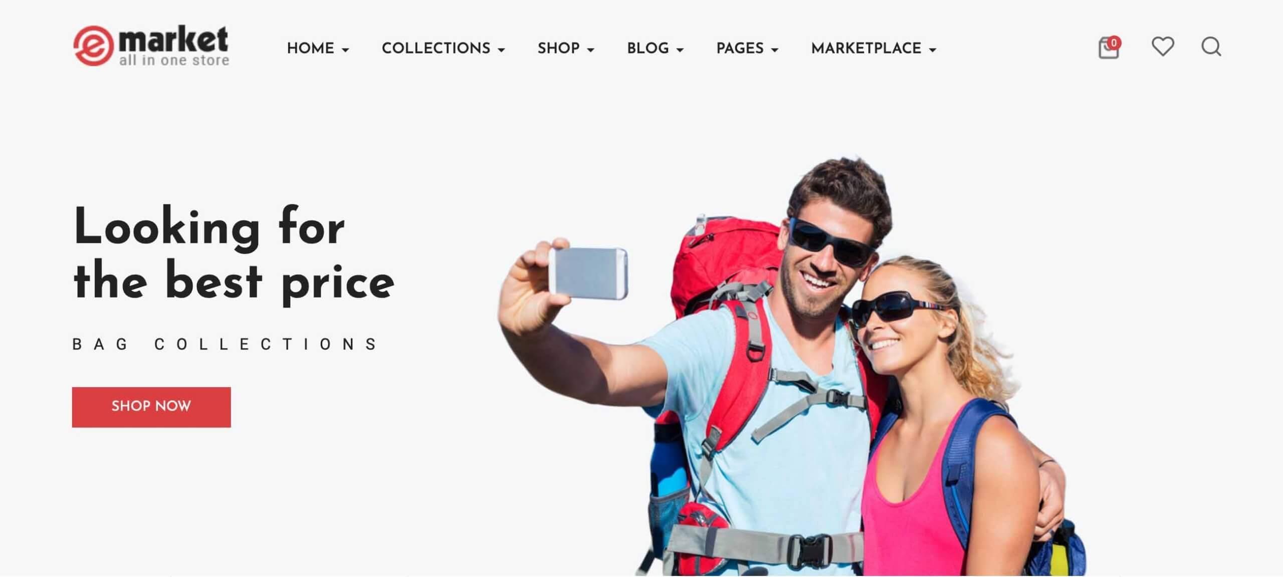 eMarket – Multi-purpose OpenCart Theme
