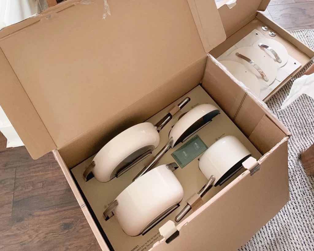 packaging of ceramic cookware