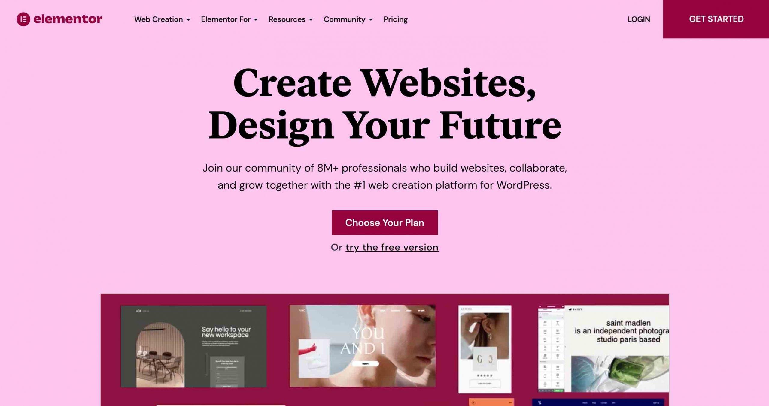 Elementor WordPress Page BuilderElementor WordPress Page Builder Plugin