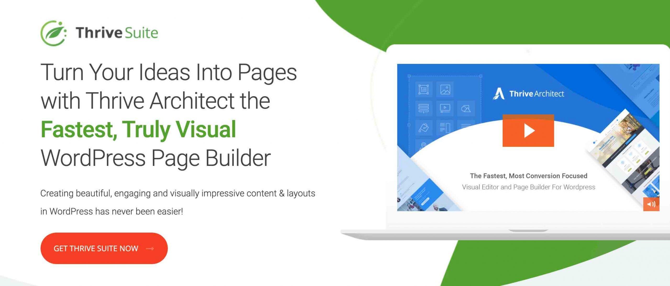 ThriveSuite WordPress Page Builder