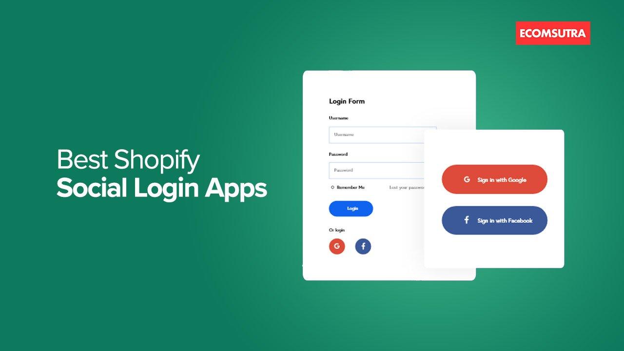 Best Shopify Social Login Apps